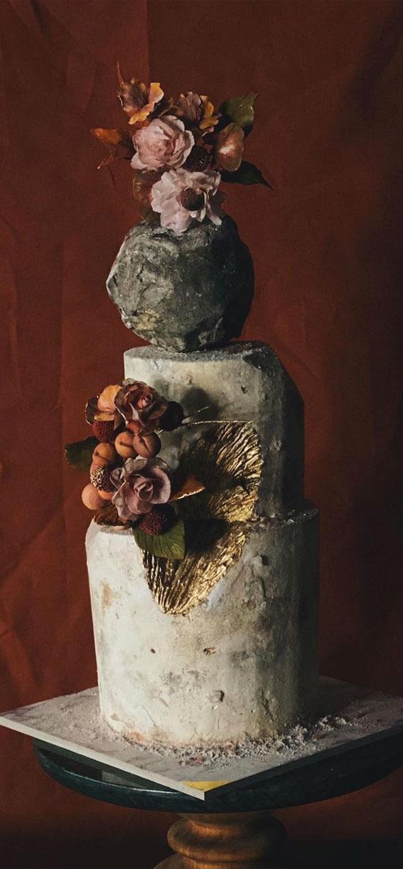 sculpture wedding cake, wedding cake ideas, art wedding cake , buttercream wedding cake #weddingcake