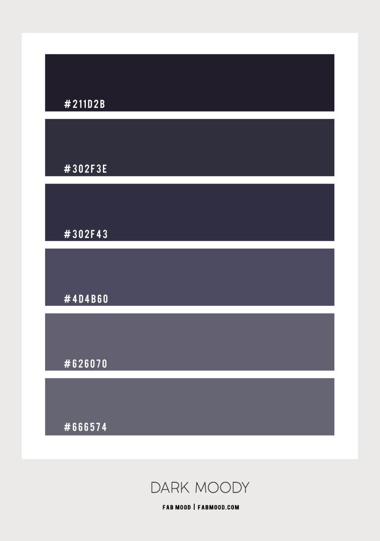 dark color hex, dark blue, moody dark, dark color combo, dark navy blue, color scheme, color combo #colorhex #colorcombo