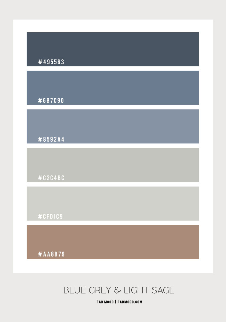 blue grey and light sage color combo, blue grey and light sage color scheme, blue grey and light sage color combination #colorscheme #colorcombo