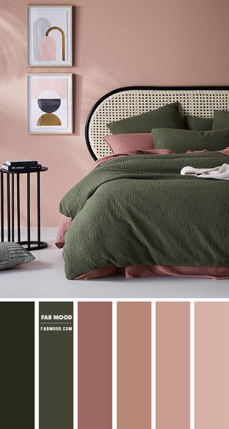 Calming Earth Tone Bedroom