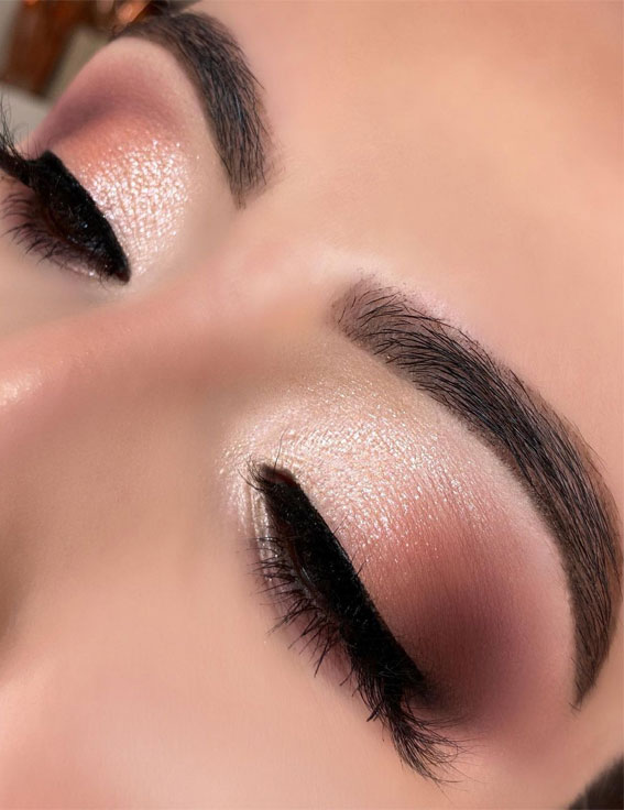 Gorgeous Eyeshadow Looks The Best Eye Makeup Trends – Soft Glam With SubtleSmokey