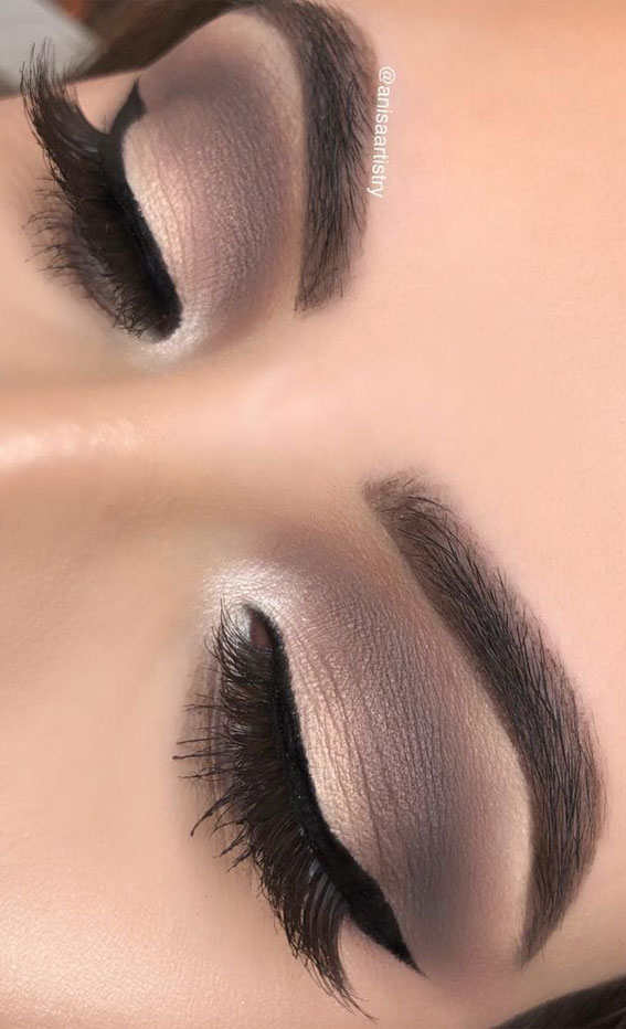 Gorgeous Eyeshadow Looks The Best Eye Makeup Trends – Mattes & cool tones