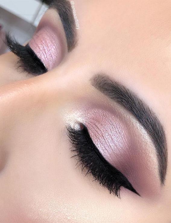 Gorgeous Eyeshadow Looks The Best Eye Makeup Trends – Soft Cut Crease Makeup Look