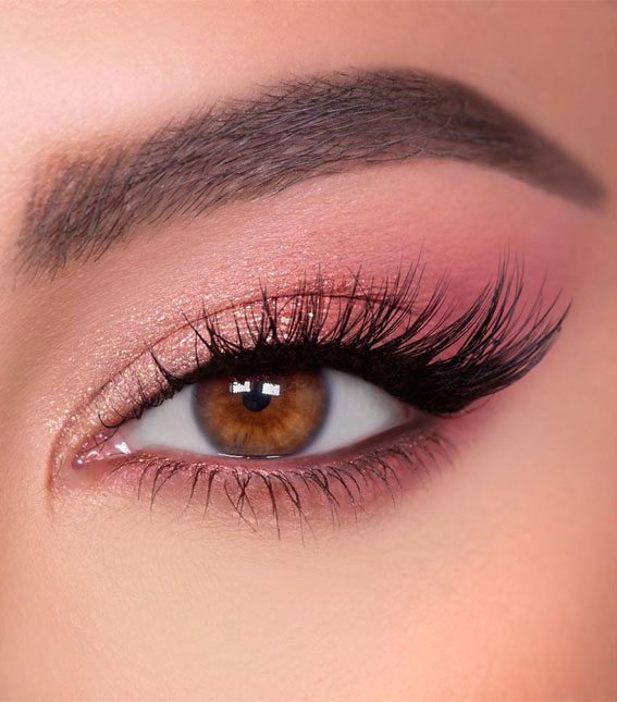 Gorgeous Eyeshadow Looks The Best Eye Makeup Trends – Pink Soft Glam