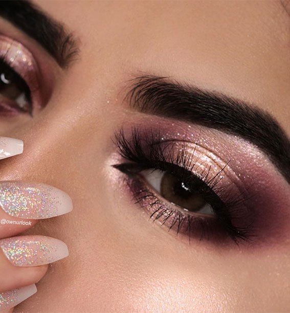 Gorgeous Eyeshadow Looks The Best Eye Makeup Trends – Smokey & Berry