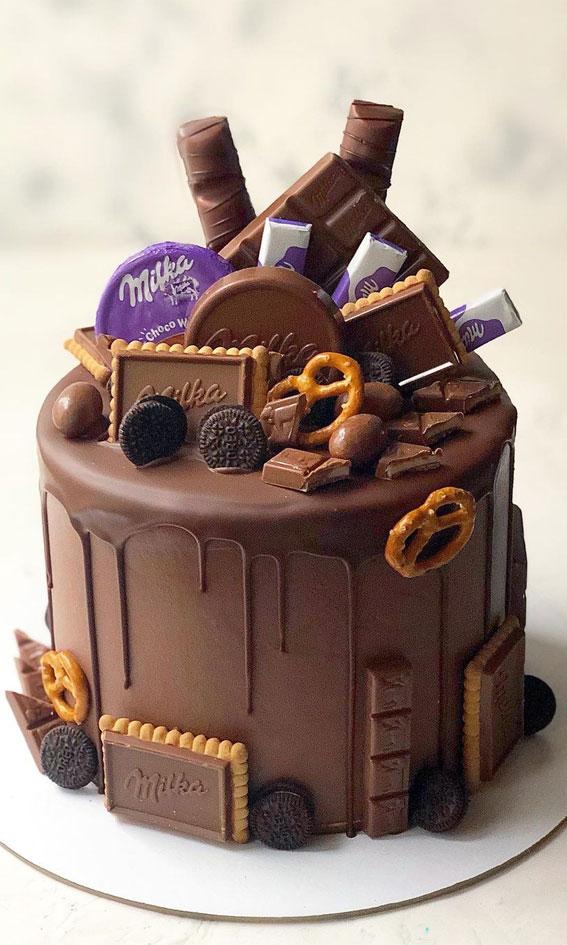 birthday cake, celebration cake, adult birthday cake #birthdaycake elegant cake
