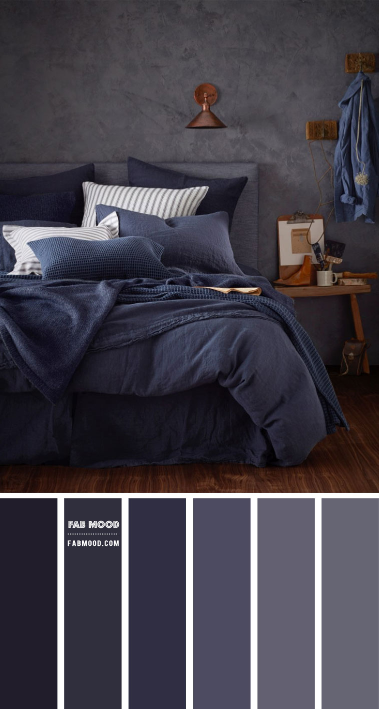 Moody Bedroom Colour Palette
