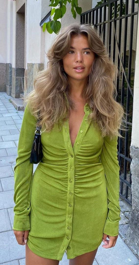 Cute Medium Length Haircuts Hairstyles Bronde With Curtain Bangs