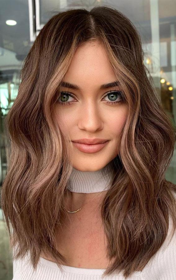 Cute Medium Length Haircuts & Hairstyles : Wavy long bob