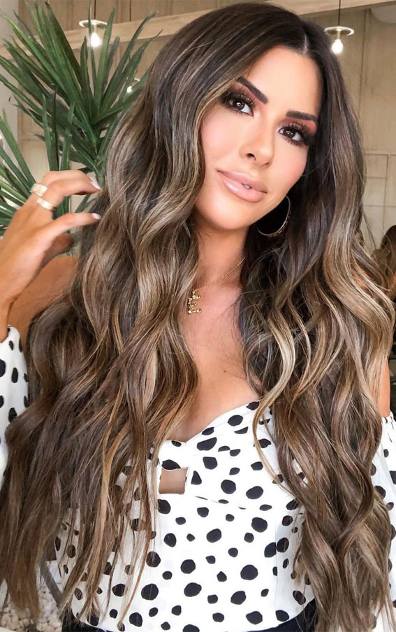 49+ Best Winter Hair Colours To Try In 2020 : English Toffee Hair Colour