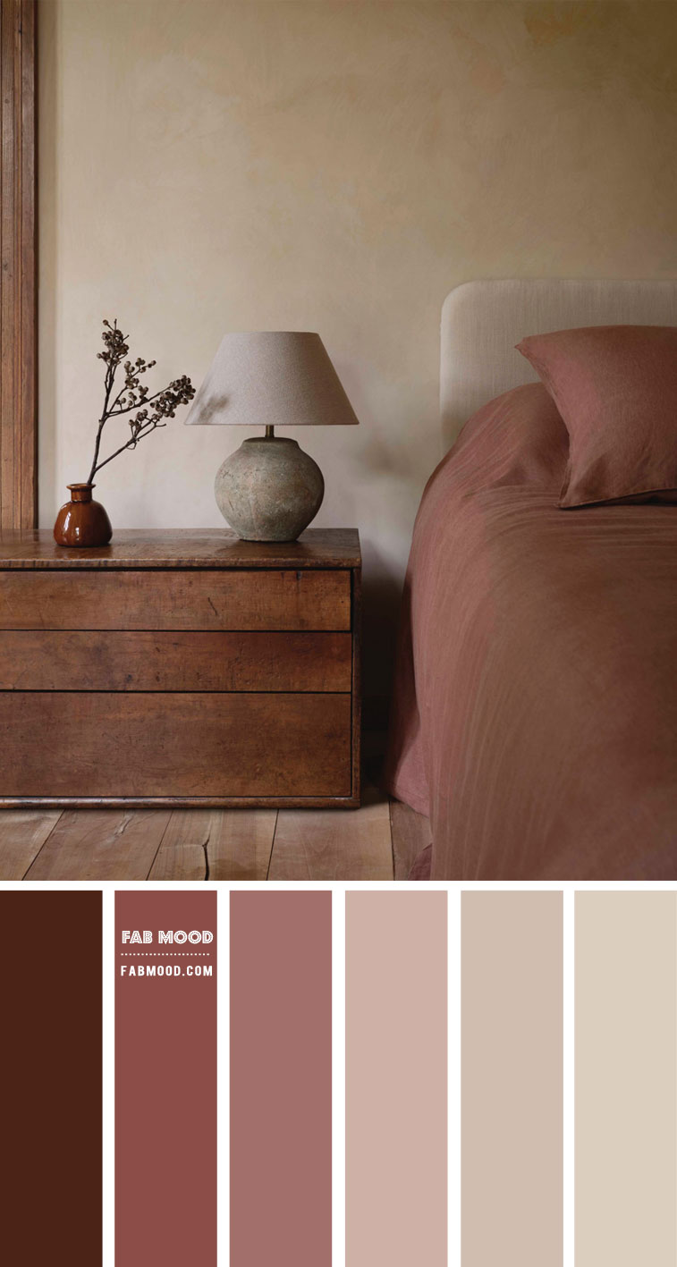 9 Best Bedrooms New Year's Resolution Ideas 2021 – Earth Tone Bedroom Colour Scheme