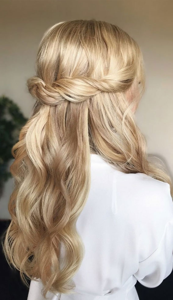 Trendy Half Up Half Down Hairstyles : different kind of half up