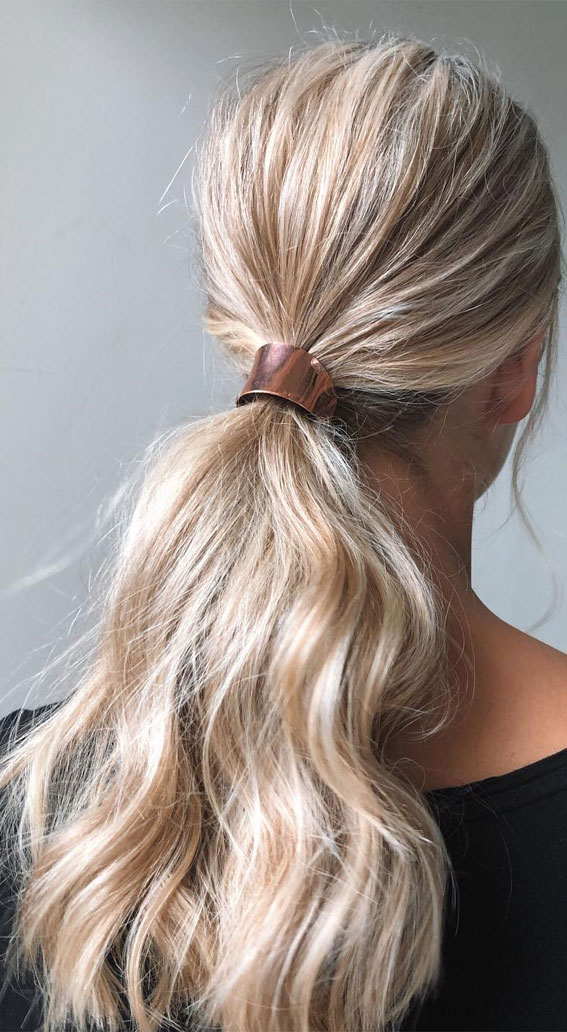 High And Low Ponytails For Any Occasion : Soft pony