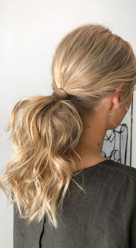 High And Low Ponytails For Any Occasion : Everyday pony