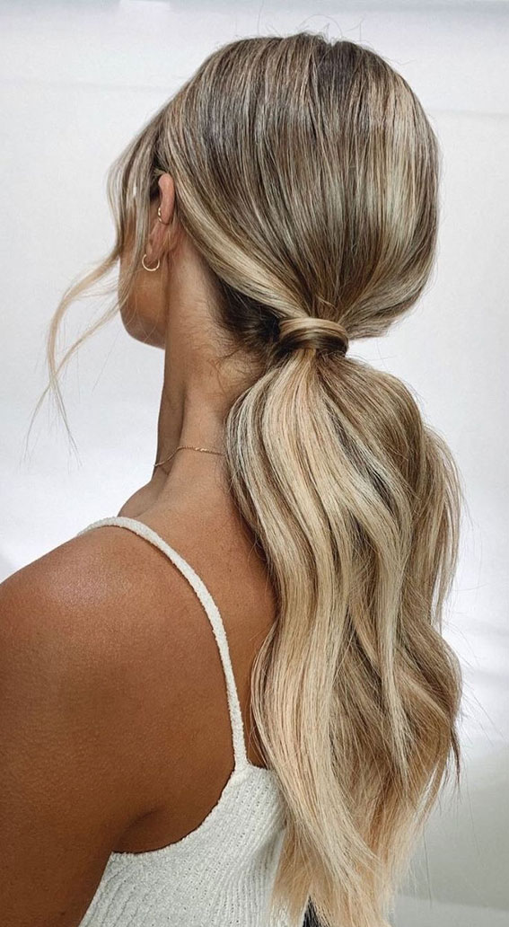 High And Low Ponytails For Any Occasion : The pony of every girl dreams