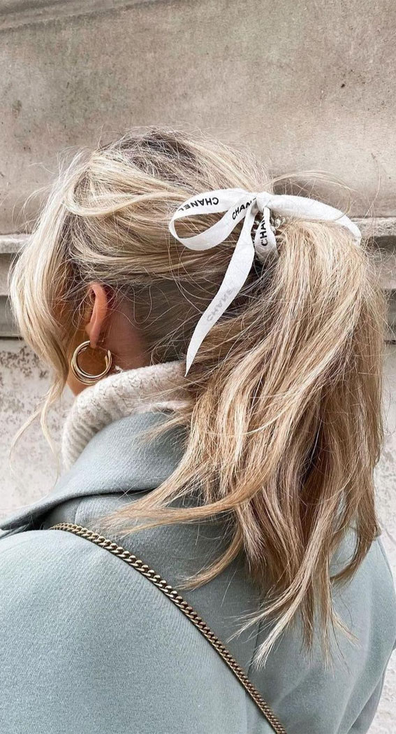 High and Low Ponytails For Any Occasion : Ponytail Hairstyle For Everyday