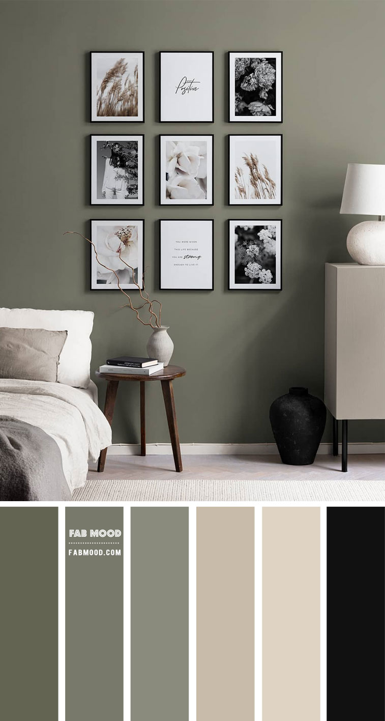 9 Best Bedrooms New Year's Resolution Ideas 2021 – Sage and Neutral Bedroom Colour Scheme