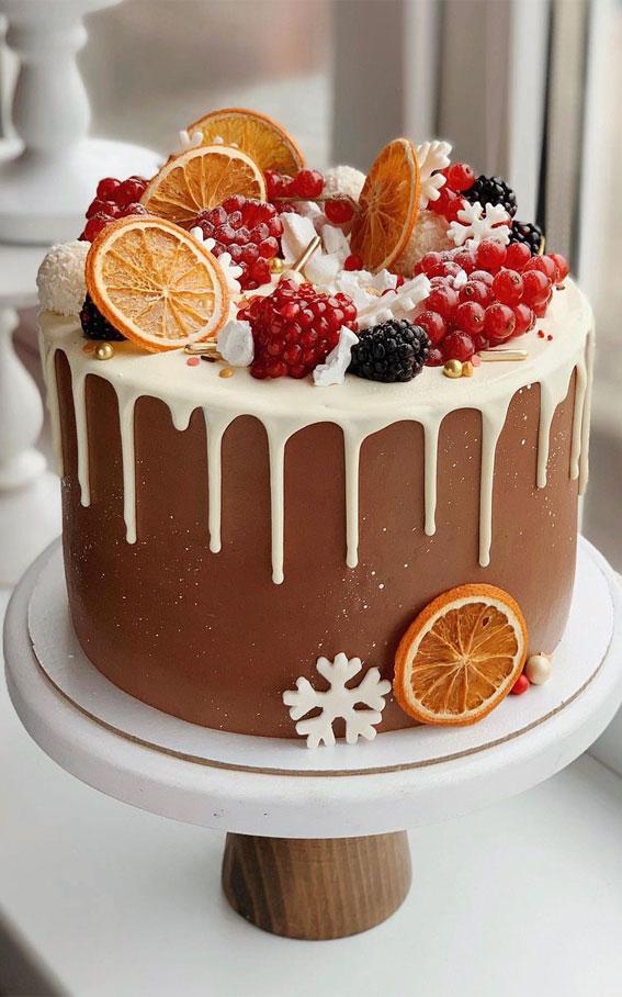 Winter Cake Ideas Must Try This Winter Season : Chocolate Winter Cake