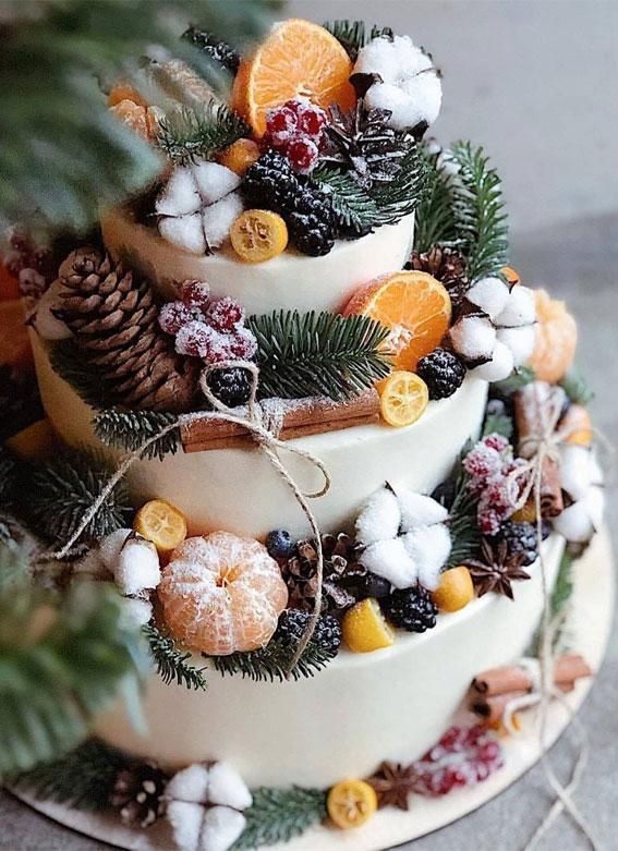 Winter Cake Ideas Must Try This Winter Season : Spice Winter Cake