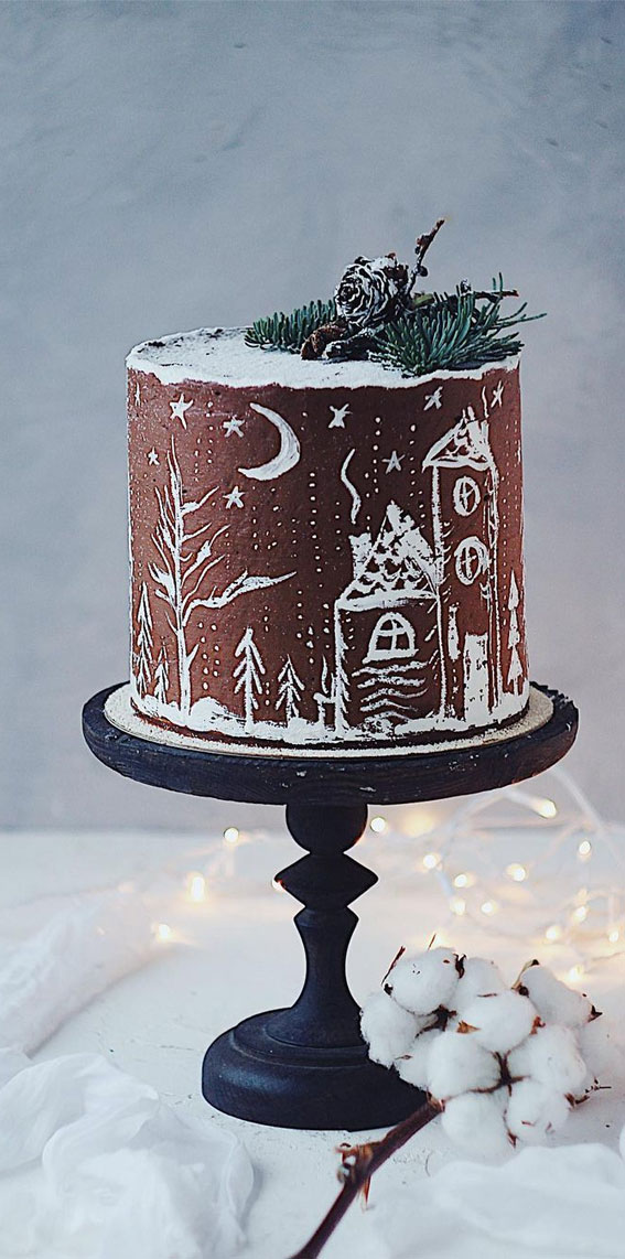 Winter Cake Ideas Must Try This​ Winter​ Season : Winter Cake