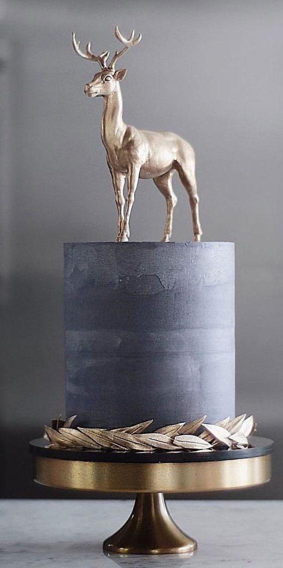 Winter Cake Ideas Must Try This Winter Season : Concrete Winter Cake