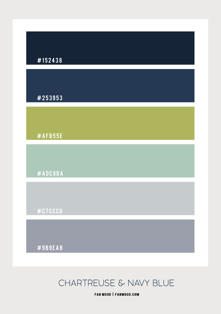 chartreuse, chartreuse color, chartreuse color hes, chartreuse color scheme, chartreuse and navy blue, chartreuse and grey color combo, color scheme, color combination, grey and navy blue, paring colors with chartreuse