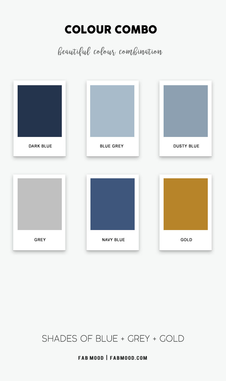 shades of blue color scheme, dark blue and gold, what color goes with dark blue, colors that go with blue, what color goes with blue, shades of blue color hex, color combo, dark blue color names