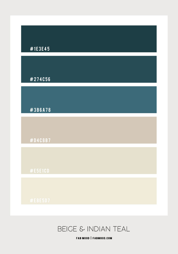 beige and indian teal color hex, beige color hex, indian teal color hex, colour combination, colour scheme, indian teal colour schemes