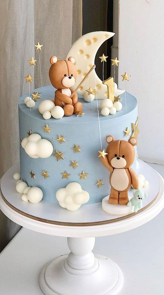 mekana plava torta, ideje za torte, rođendanska torta, dječja tuš torta, ideje za ukrašavanje torti, ideje za torte 2021