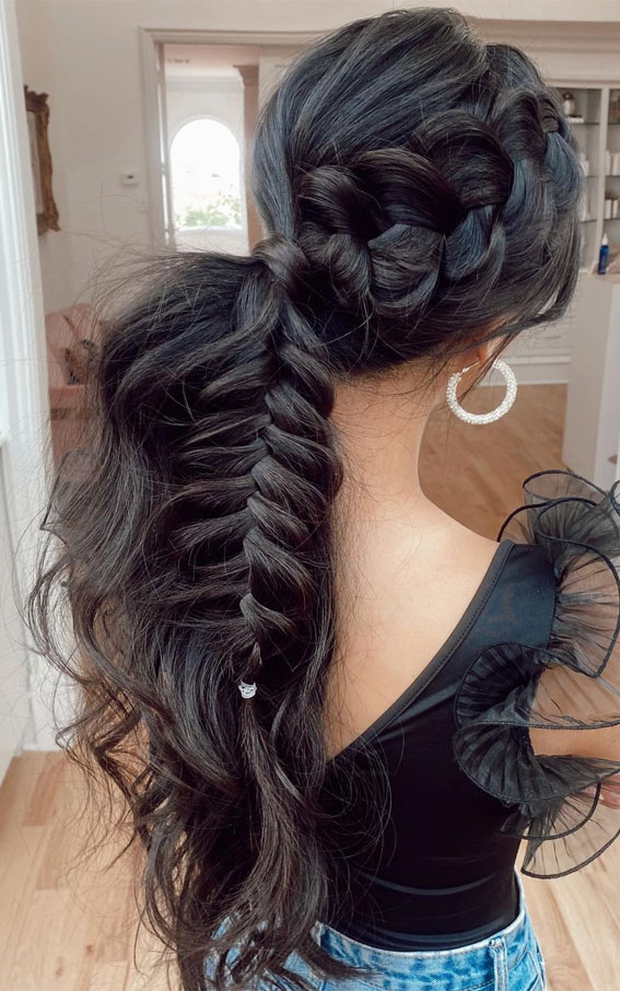 chunky braids, braided hairstyle, best braid hairstyles 2021, braid hairstyles 2021, braid ideas 2021