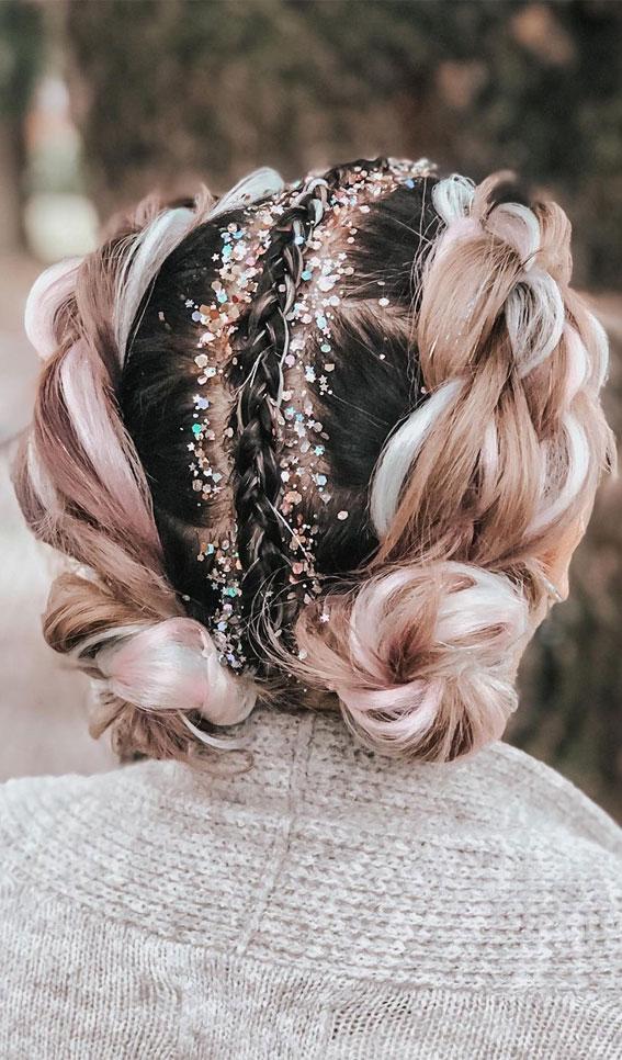 Cute braided hairstyles to rock this season : Cute French Single Braid Crown