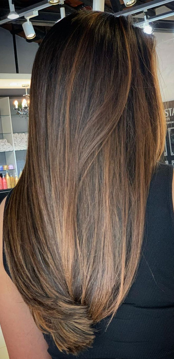 Best Hair Colour Ideas & Styles To Try in 2021 : Illuminated Brown hair