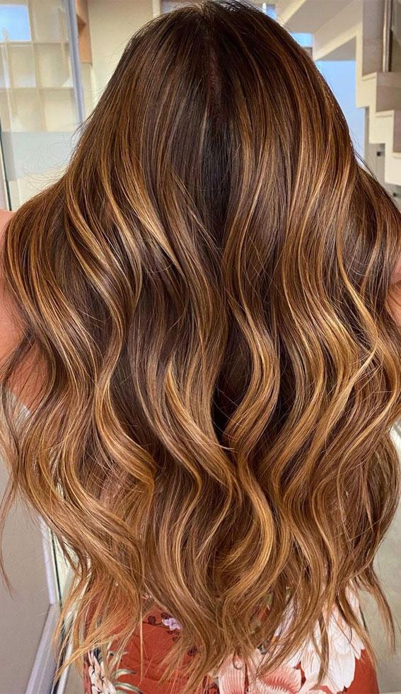Gorgeous Hair Colour Trends For 2021 : Cappuccino Colour