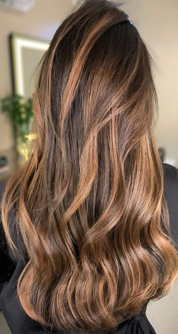 Gorgeous Hair Colour Trends For 2021 : Warm light brown hair colour