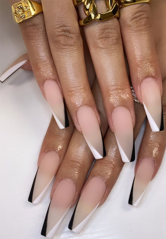 Naked Nude And White Nails Png