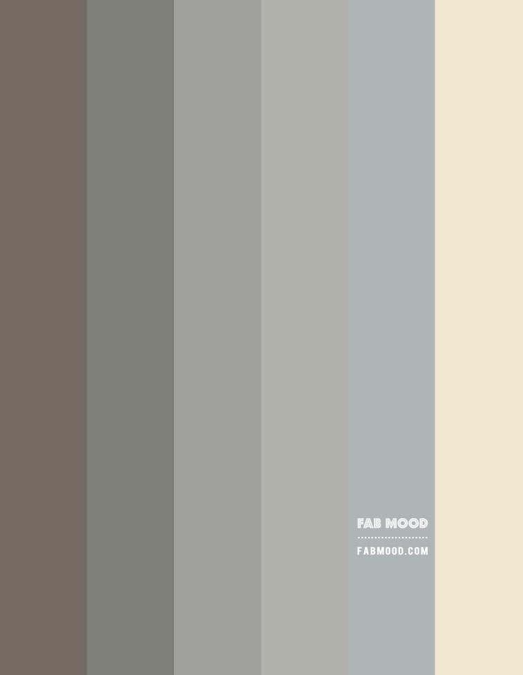 muted grey green gradient colour palette, colour scheme in muted grey green, color hex, mute grey green color with beige and dusty blue accent colours