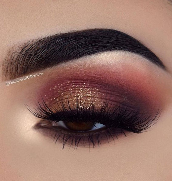 Best Eye Makeup Looks For 2021 : Pink Berry Makeup Look