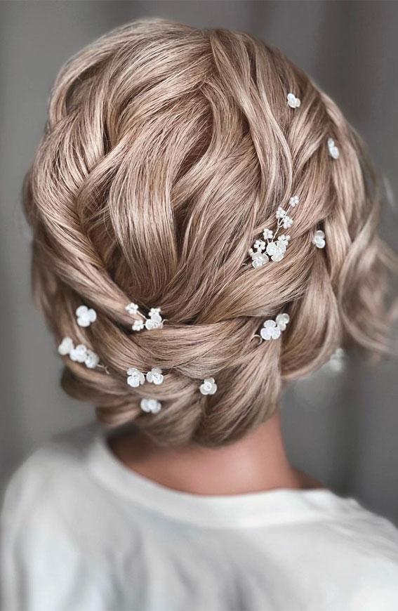 halo braids, crown halo braids, halo braid wedding updo, halo braid updo hairstyle, halo braid bridal hairstyle