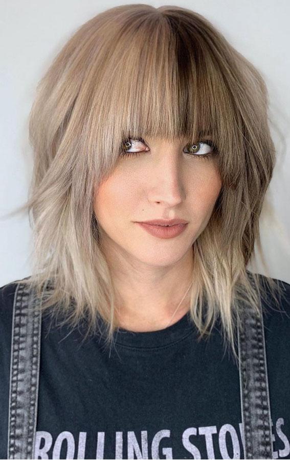 Cute Haircuts And Hairstyles With Bangs : Fabulous hairstyle with bangs