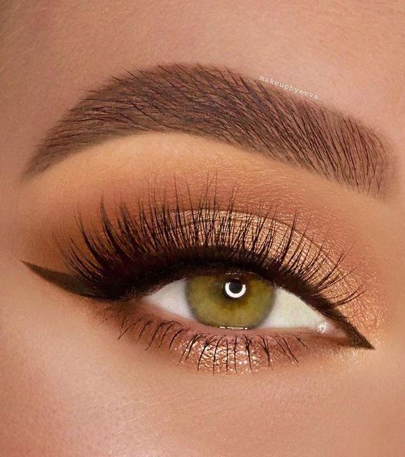 Best Eye Makeup Looks For 2021 : Bronze Makeup Look