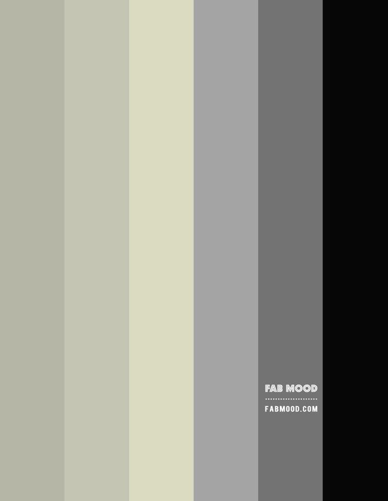 grey and sage gradient color palette, grey and sage colour scheme