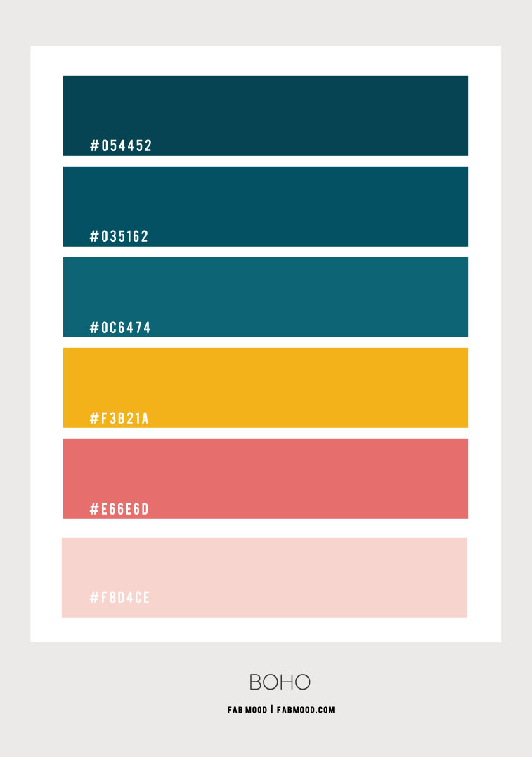 emerald color combo, teal and mustard color hex, deep turquoise and mustard color hex, deep turquoise color hex, coral and deep turquoise color hex