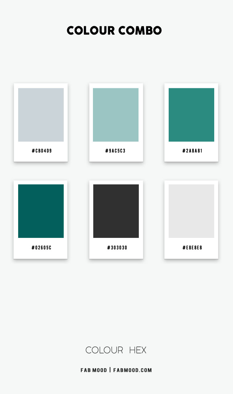 teal green color hex, charcoal color hex, charcoal and teal green color hex, grey color hex