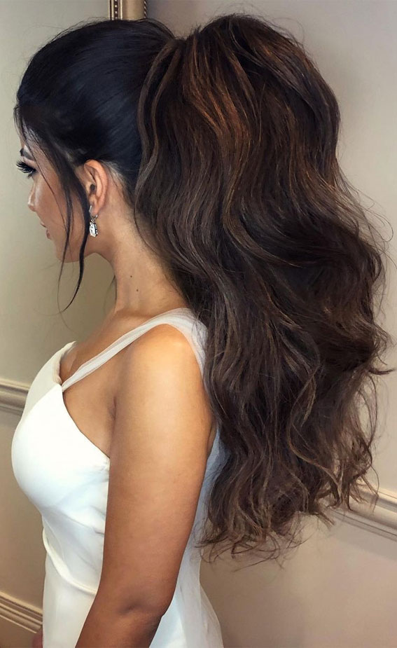 High And Low Ponytails For Any Occasion : Textured Power Ponytail