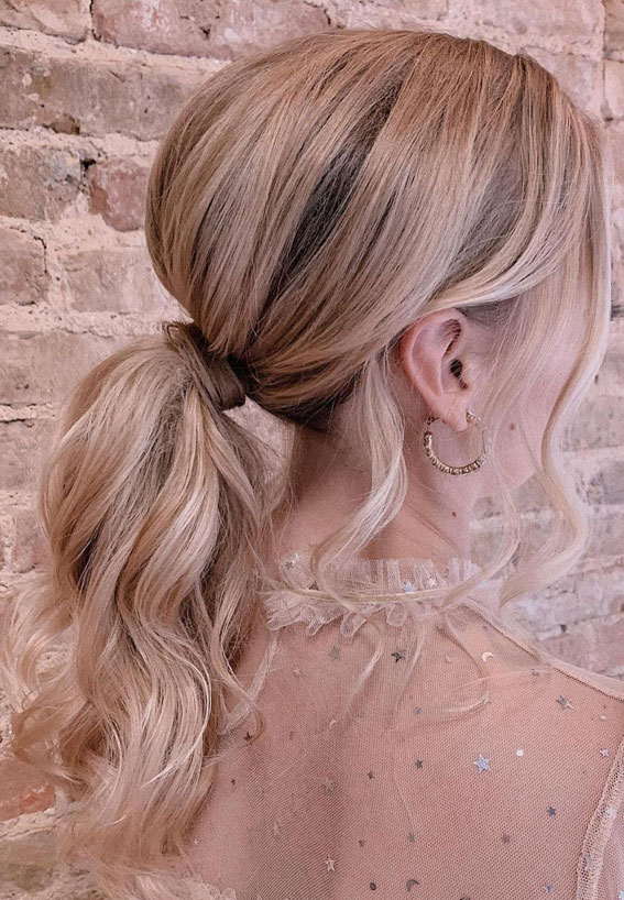 High And Low Ponytails For Any Occasion : Stunning volume ponytail