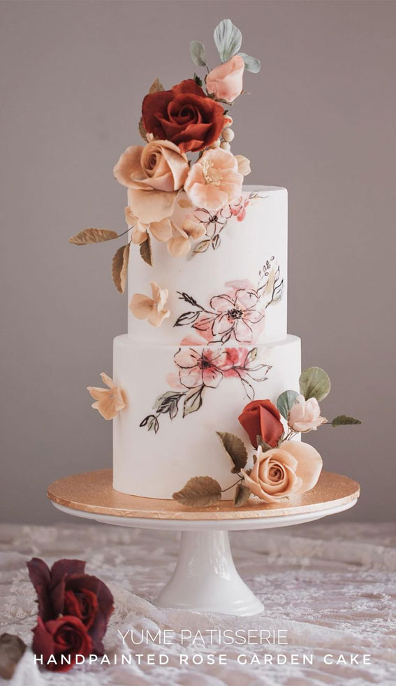 41 Best Wedding Cake Styles For Your Big Day :