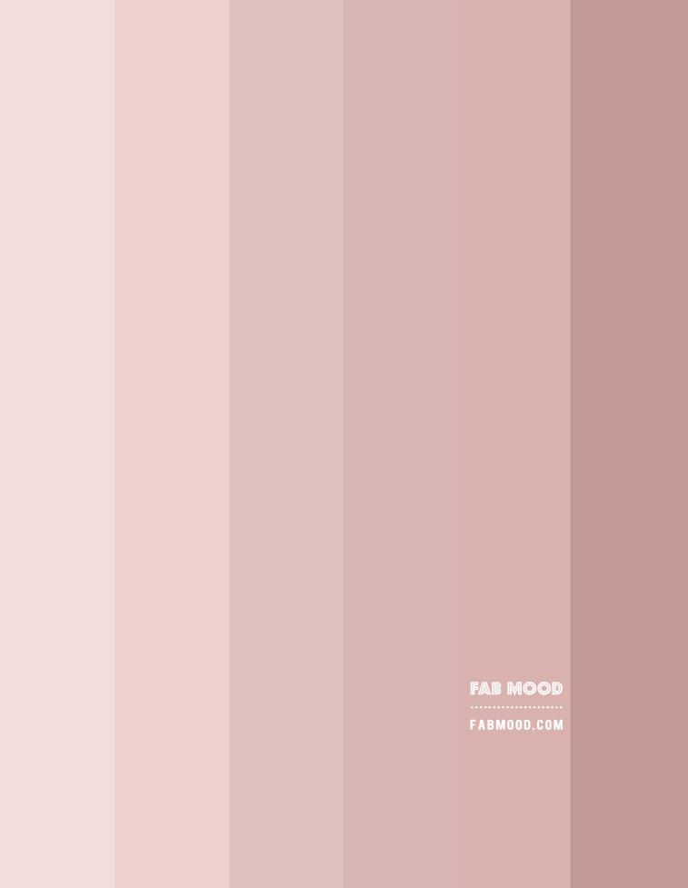 earth tone, dusty pink gradient color palette, rose pink color hex, pink rose , dusty rose color hex, rose pink color combination