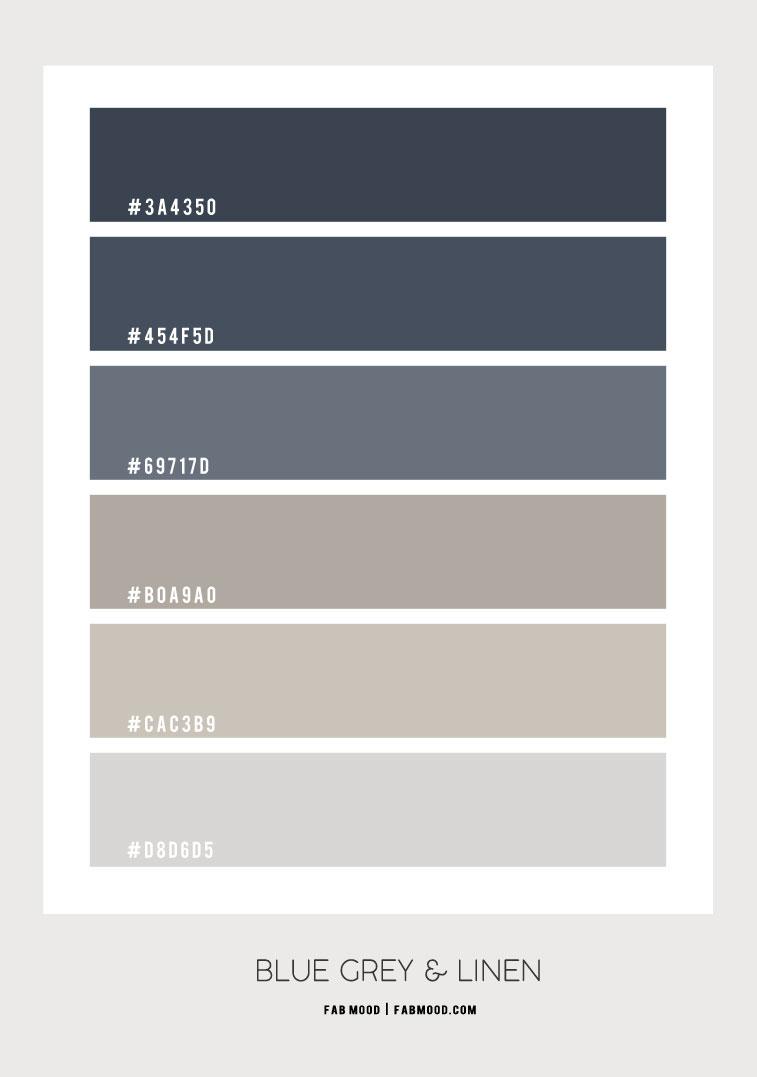 blue grey and linen color hex, blue grey color hex, blue grey and linen, blue grey and linen color combo, ombre blue grey and linen, blue grey and linen color combination