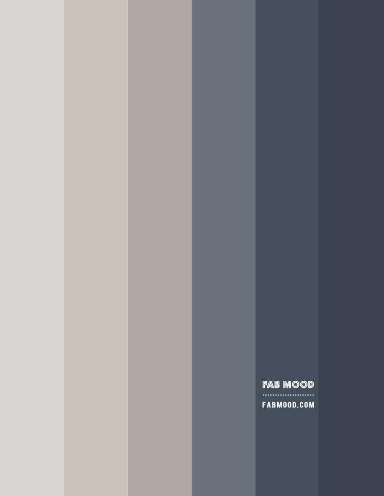 blue grey and linen gradient color palette, blue grey and linen color combo, ombre blue grey and linen, blue grey and linen color combination