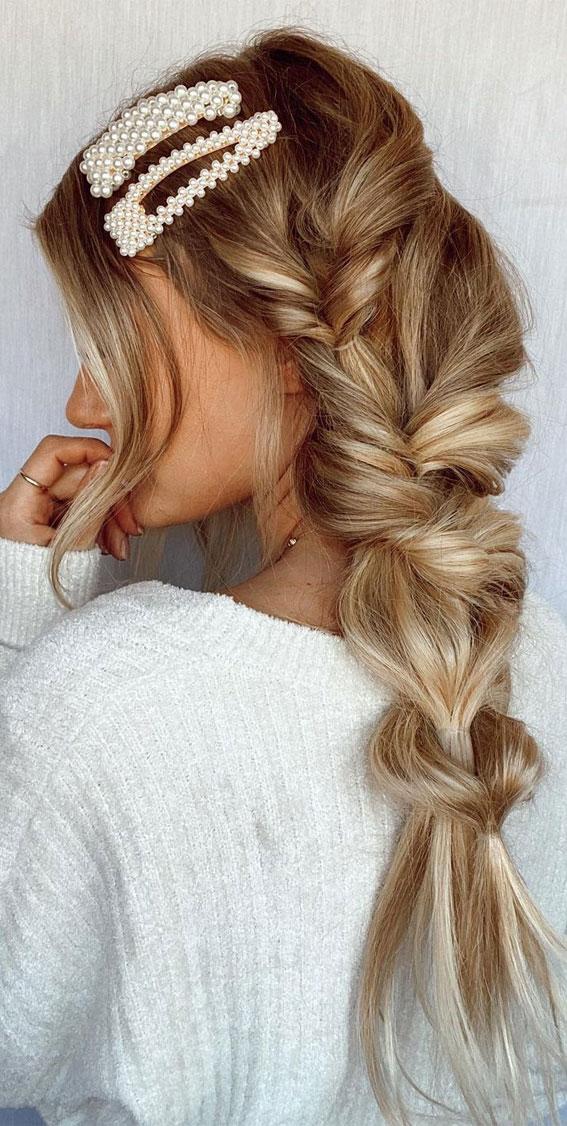 Cute braided hairstyles to rock this season : Pull Through Braid on Braids
